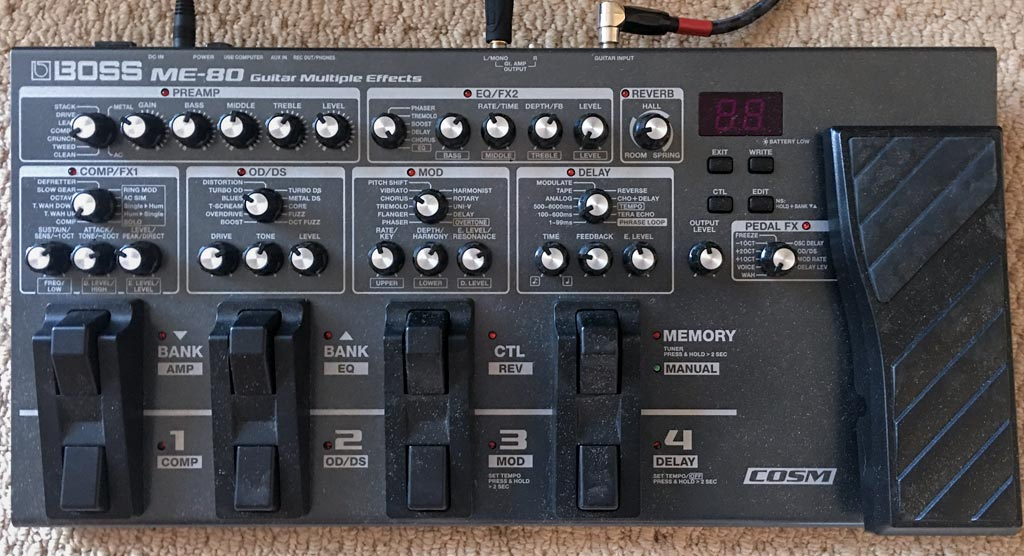 Boss ME-80 Multi-effects